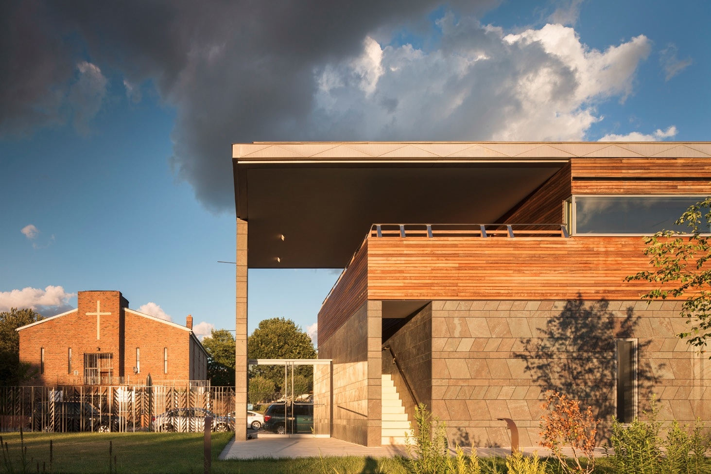 Weeksville Heritage Center by Caples Jefferson Architects. Photo: Nic Lehoux.