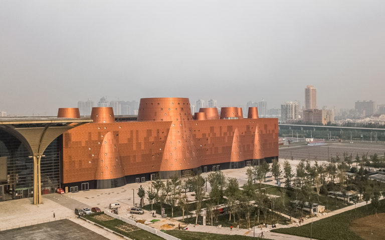 Tianjin Binhai Exploratorium by Bernard Tschumi Architects with Tianjin Urban Planning and Design Institute. Image credit: Kris Provoost.