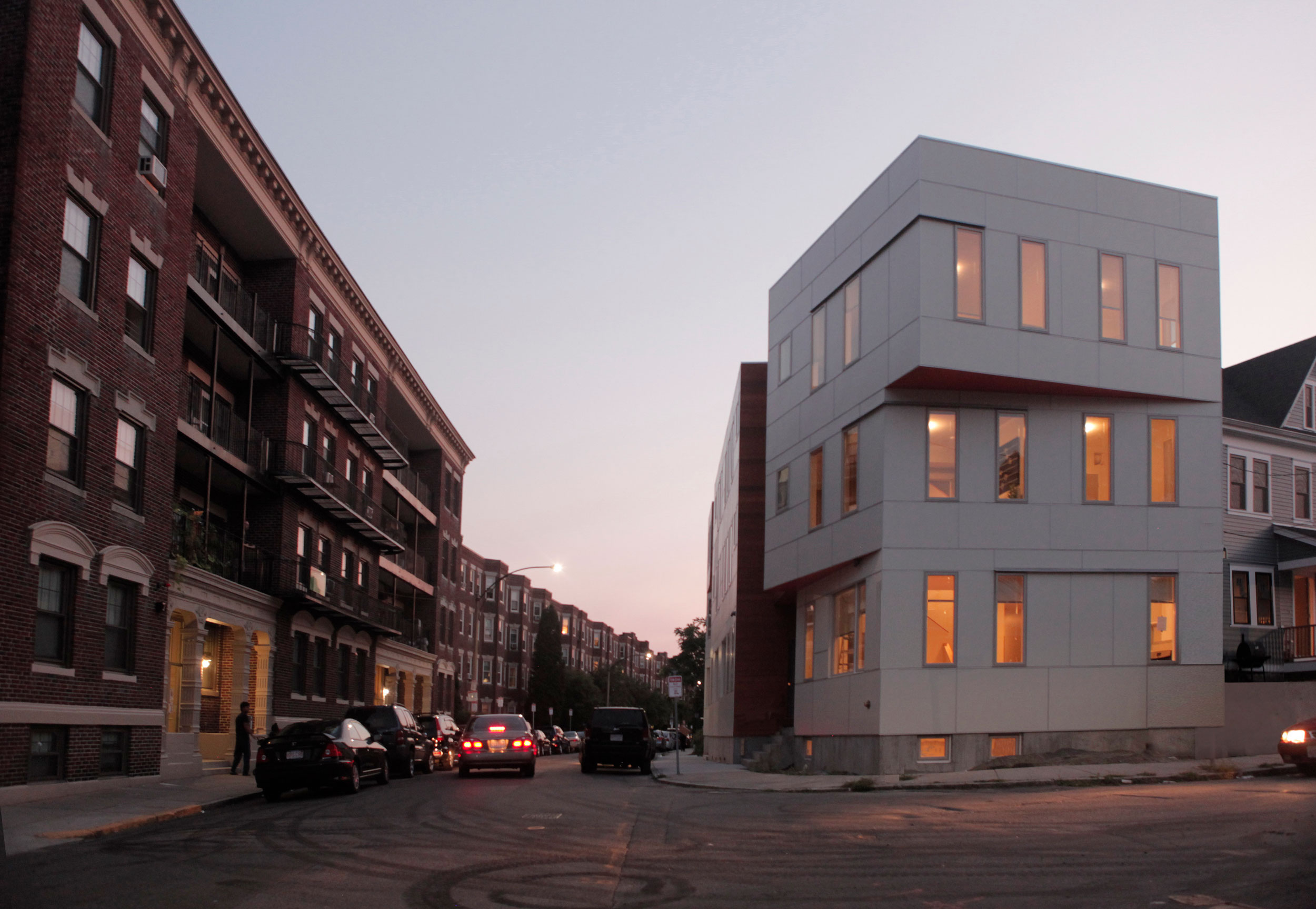 Glenville Townhomes by RODE Architects. Photo: RODE Architects.
