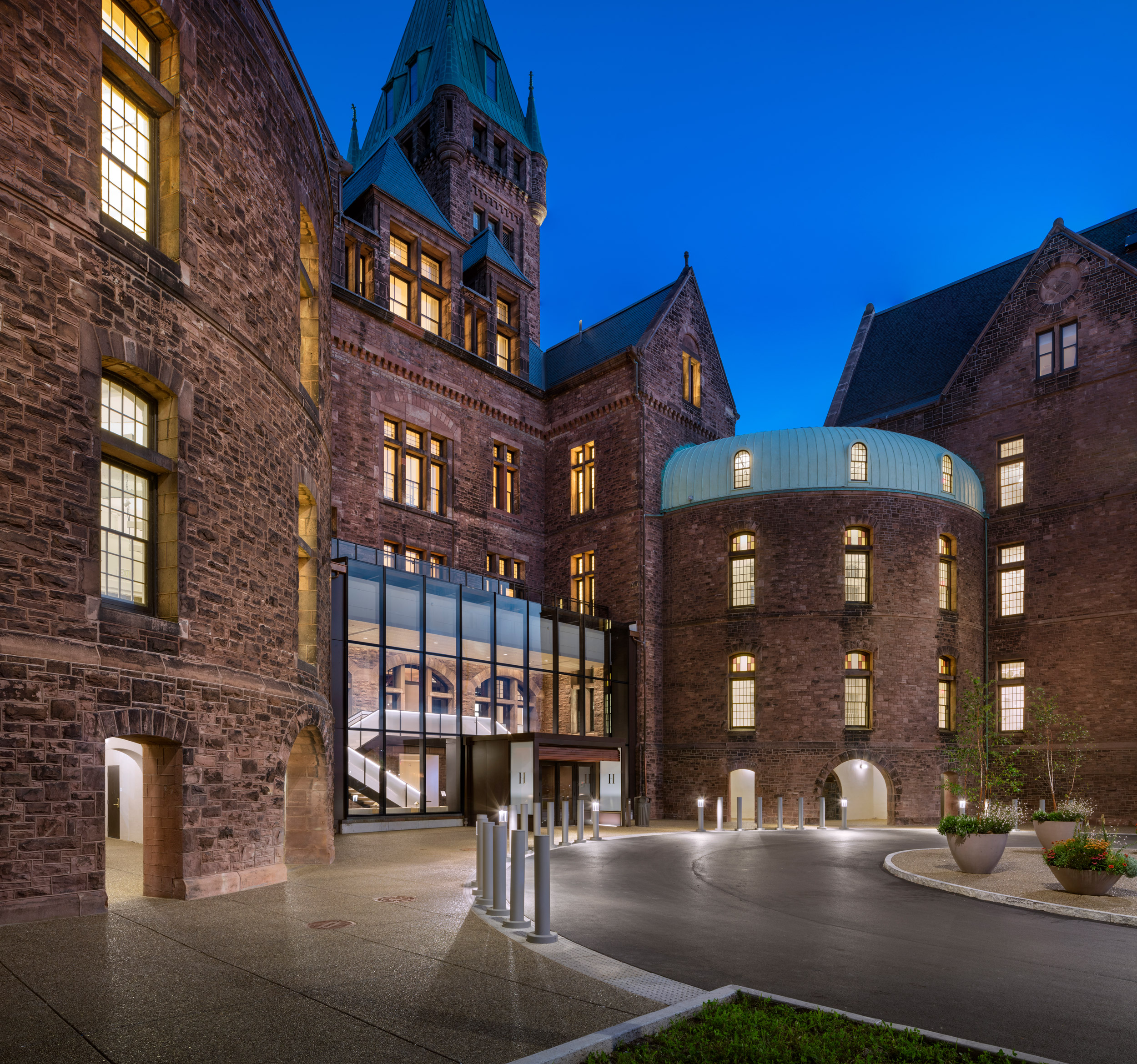 Architecture Honor Award: Richardson Olmsted Campus Renovation by Deborah Berke Partners, Flynn Battaglia Architects, Goody Clancy, and Andropogon Associates, in Buffalo, NY. Photo: Christopher Payne/ESTO.