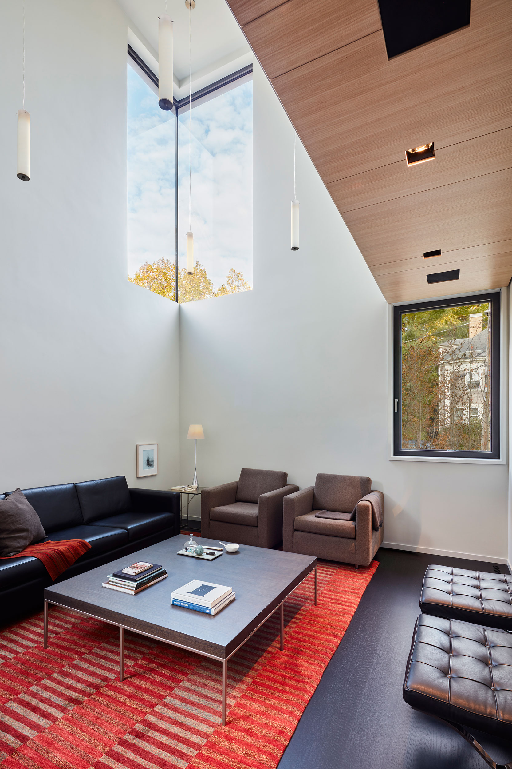 Courtyard House by Anmahian Winton Architects, in Cambridge, MA. Photo: Jane Messinger.